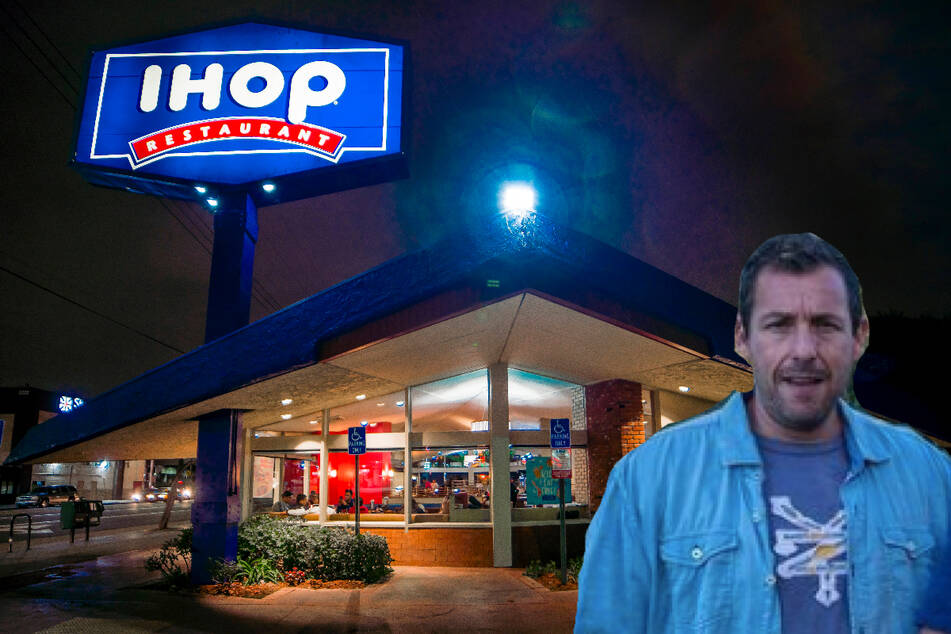 Adam Sandler gets turned away from an IHOP and TikTok goes nuts