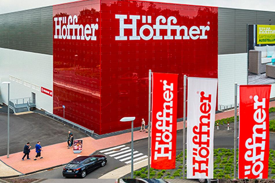 Möbel Höffner gibt bis Montag (30.11.) Rabatt des Jahres in allen Abteilungen