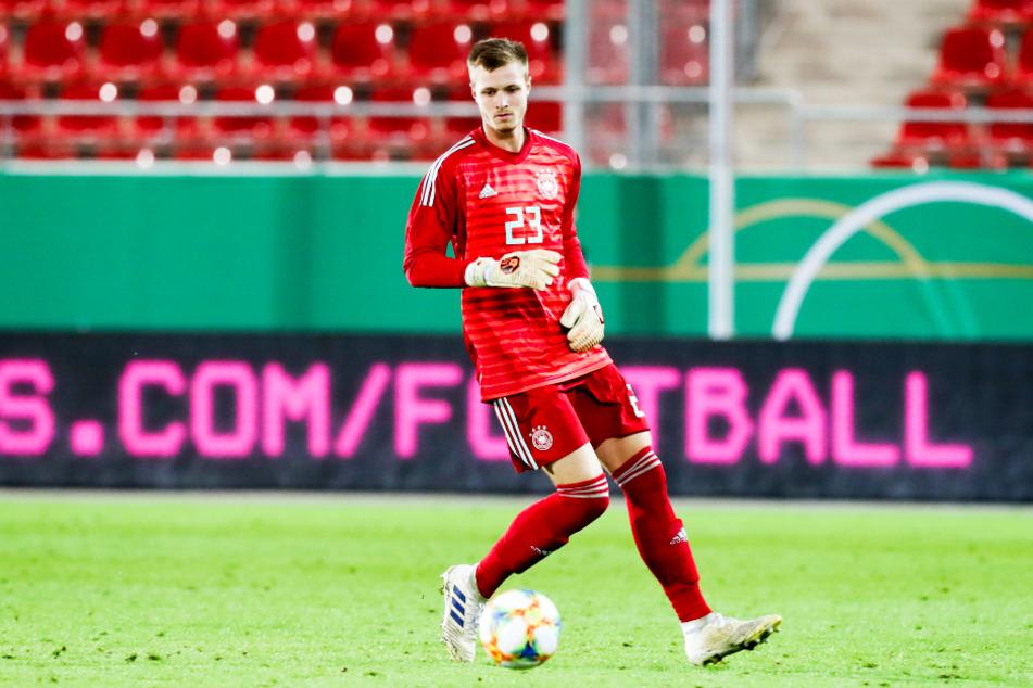 Lennart Grill (21) ist wohl der härteste Konkurrent von Markus Schubert beim Kampf um den Platz im DFB-U21-Tor.
