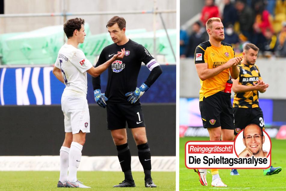 Dynamo und Aue im Abwärtstrend! FC Viktoria zum vierten Mal in Folge sieglos