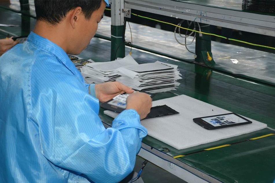 Gefertigt werden die E-Reader in China.