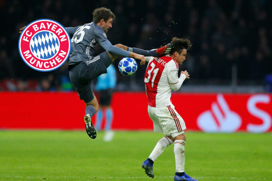 Zwei Rote, zwei Elfer: Bayern kämpft sich gegen Ajax zum Gruppensieg