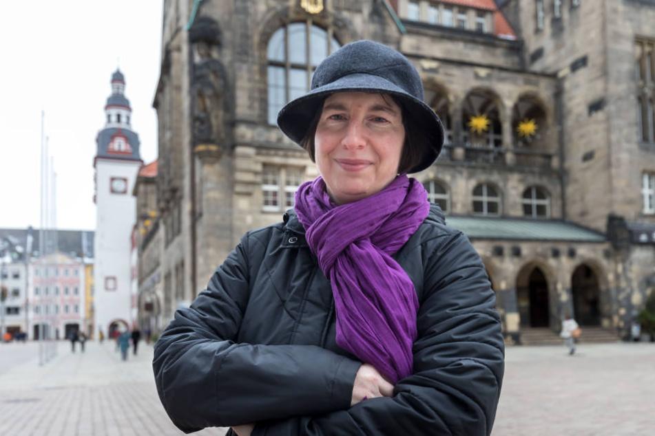 Die Chemnitzer Inklusions-Vorkämpferin Julia Wunsch (47) reist zum Neujahrsempfang von Bundespräsident Frank-Walter Steinmeier (62).