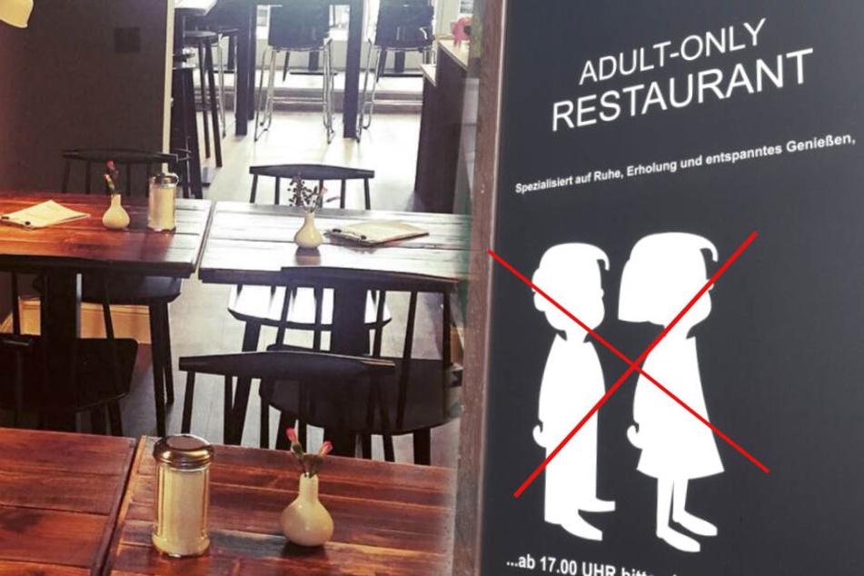 """""""Schockiert und sauer"""": In diesem Café sind kleine Kinder verboten!"""