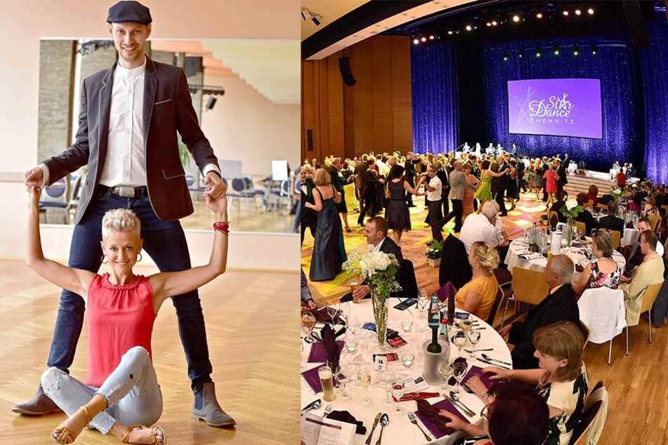 Tanzgala mit Showeinlagen: Stardance begeistert in der Stadthalle  Chemnitz. Werden Martin Schmitt (30) und Sindy Hohmann (36) überzeugen?