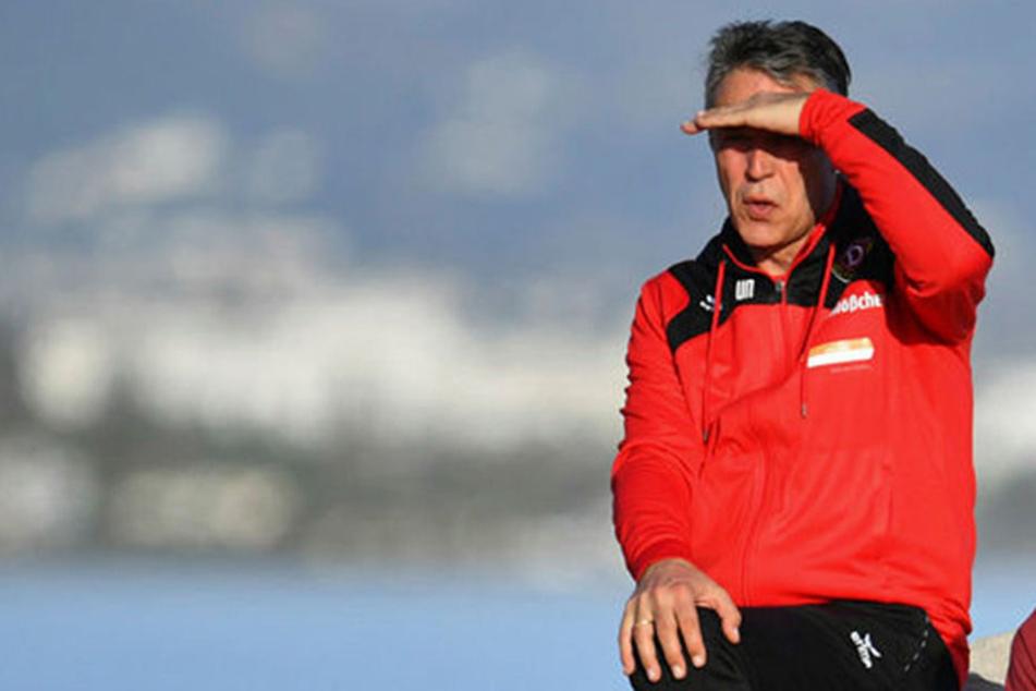 SGD-Coach Uwe Neuhaus blickt frohen Mutes in die Zukunft. Er geht ins vierte Jahr bei den Dynamos.