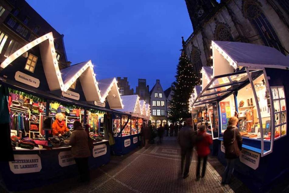Den Lichtermarkt in Münster gibt es schon seit 1987 unter diesem Namen.