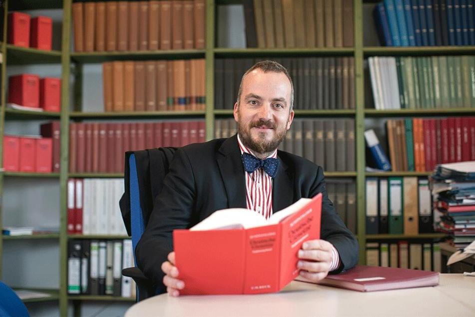 Anwalt Gerhard Rahn (46) hält Enteignungen für prinzipiell gesetzeskonform.