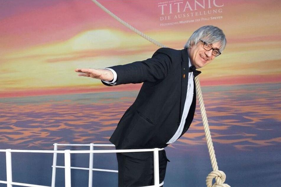 Prof. Dr. Metin Tolan (54) ist Physiker und Titanic-Fan. In einen Vortrag an der TU Chemnitz widmet er sich diesem Thema.