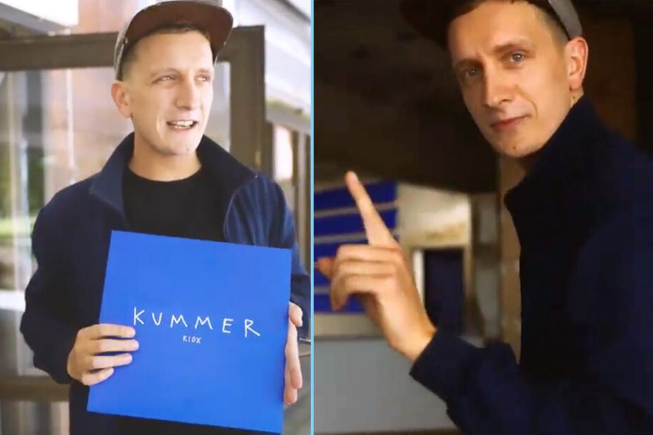 """In seinem Laden gibt es exklusiv das Album """"Kiox"""" von Felix Kummer zu kaufen."""