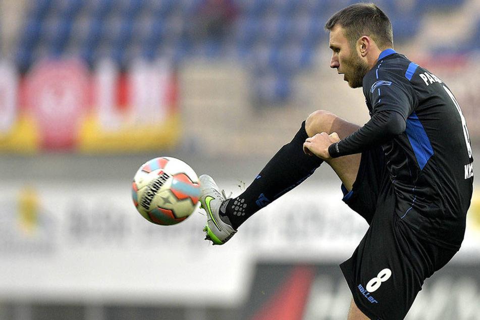 Marc André Kruska (29) möchte beim 1. FSV Mainz 05 II gerne von Anfang an spielen.