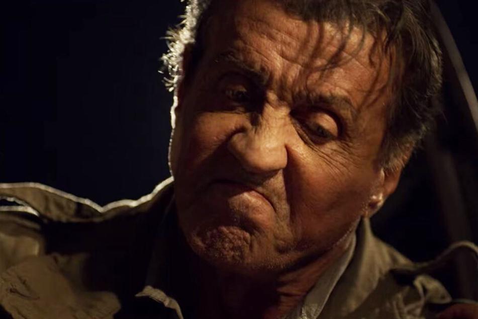 John Rambo (Sylvester Stallone) packt auch im hohen Alter noch kräftig zu.