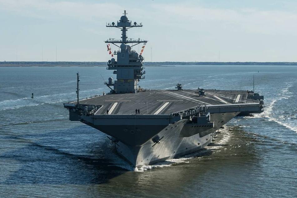 Ein Flugzeugträger der US-Navy