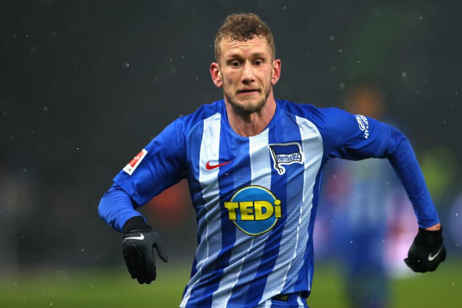 Letztes Spiel im Hertha-Trikot: Fabian Lustenberger wird den Verein im Sommer nach zwölf Jahren verlassen.