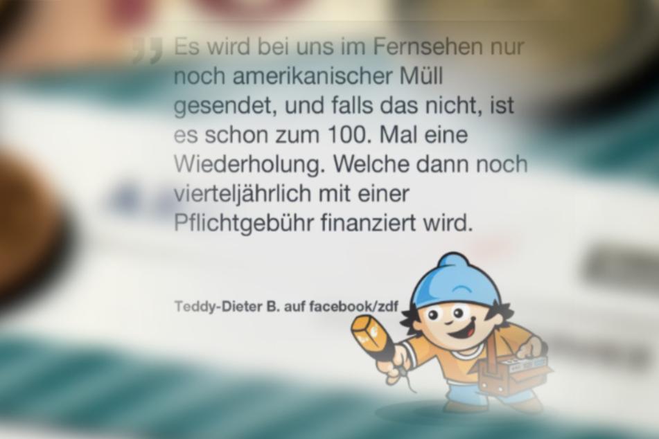 """""""Teddy Dieter B."""" gefallen """"zu viele Wiederholungen"""" im ZDF nicht."""