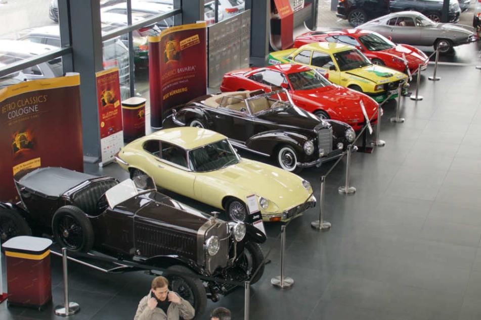 Erste automobile Leckerbissen gab es schon am Dienstag bei der Pressekonferenz zu sehen.