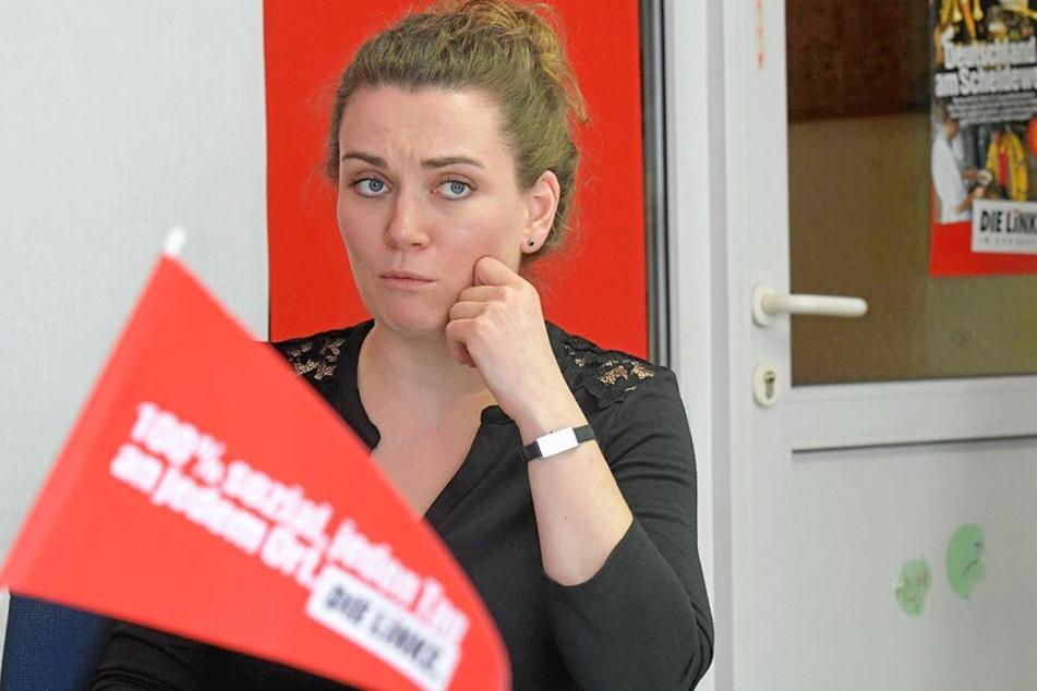 Anne Holowenko (35, Linke) setzt große Hoffnungen auf die Gespräche mit den anderen Fraktionen.