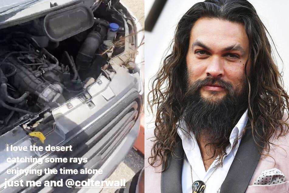 """""""Game of Thrones""""-Star Jason Momoa in der Wüste liegengeblieben: Seine Fans sollen ihn retten"""