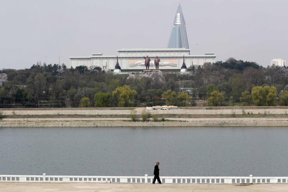 Nordkorea, hier die Hauptstadt Pjöngjang wurde von einem Erdbeben der Stärke 3,4 erschüttert.