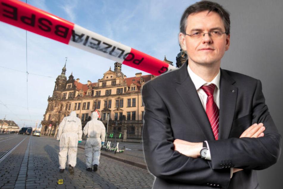 Dresden: Neue Spur im Dresdner Juwelenraub-Fall? Polizei vernimmt auch MDR-Redakteurin