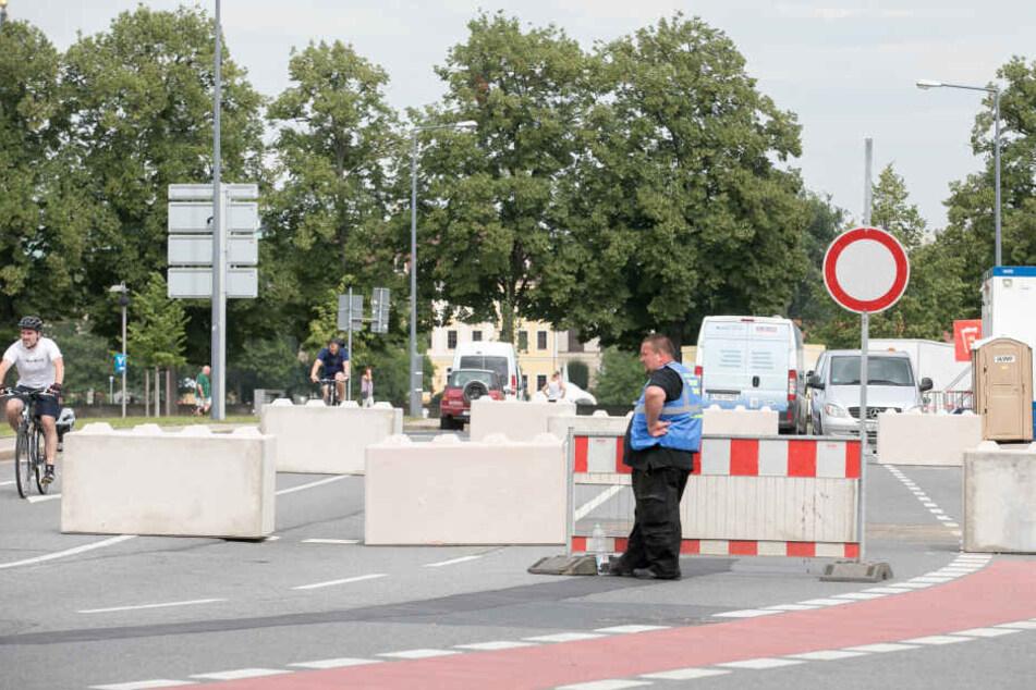 Nizza-Sperren wie Am Zwingerteich sollen auf den Straßen für Sicherheit sorgen.