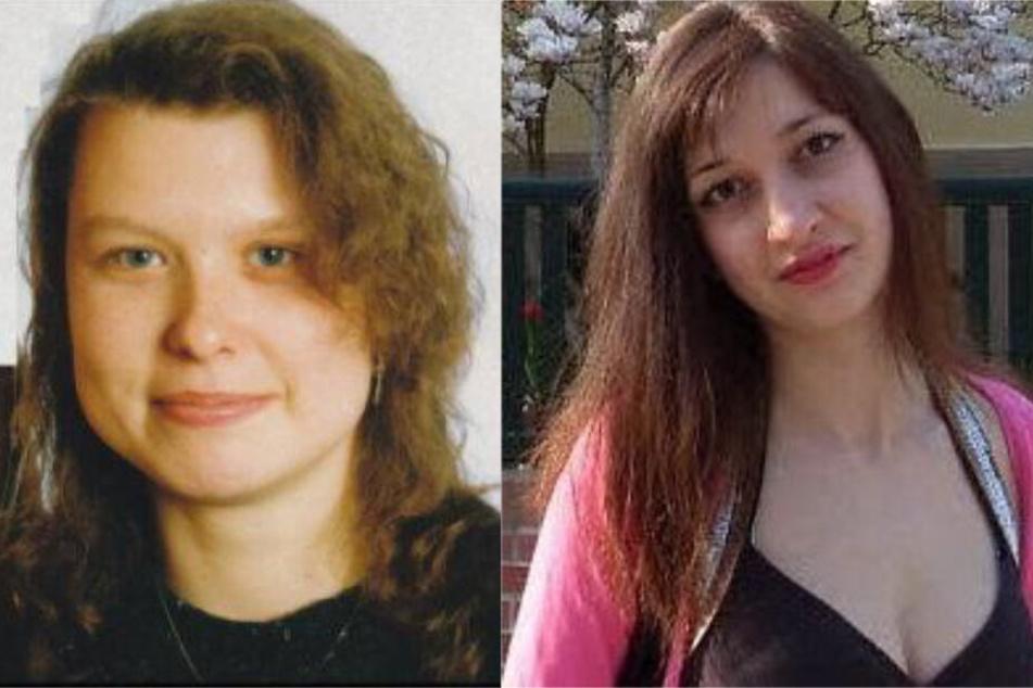 Bereits im Februar 1994 verschwand Anke Hübschmann (l.). Knapp vier Wochen später wurde die Getötete nahe Dresden gefunden. Studentin Mariya Nakovska (r.) wurde 2014 beim Joggen überfallen, vergewaltigt und in einen Wassergraben geworfen.