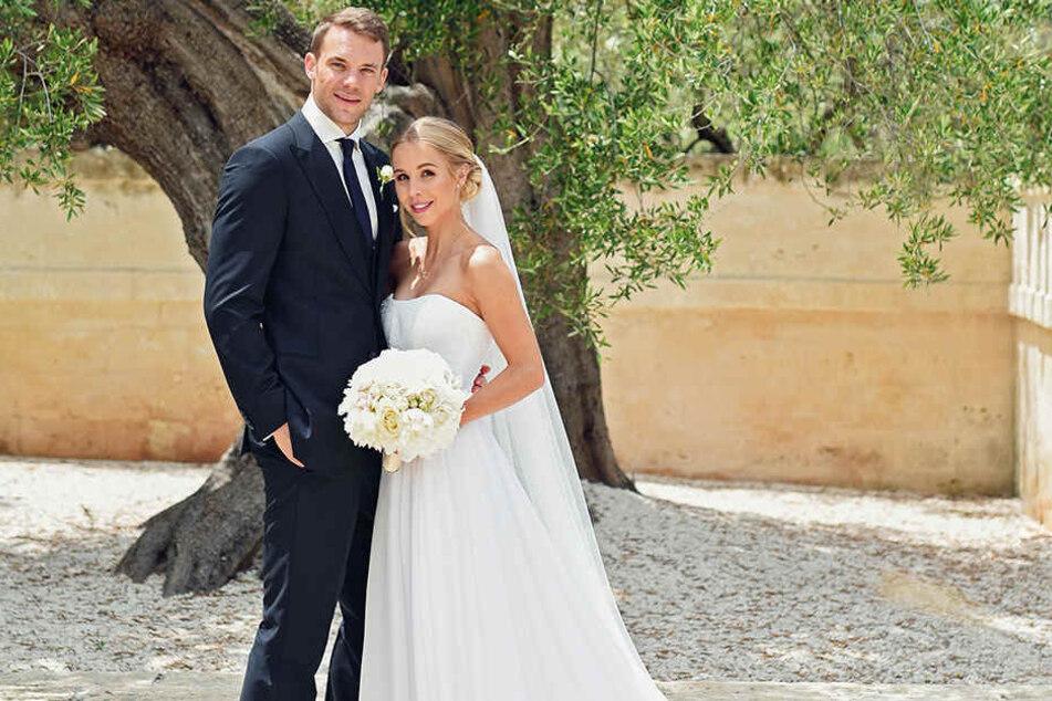 Manuel Neuer heiratete seine Nina im italienischen Monopoli.