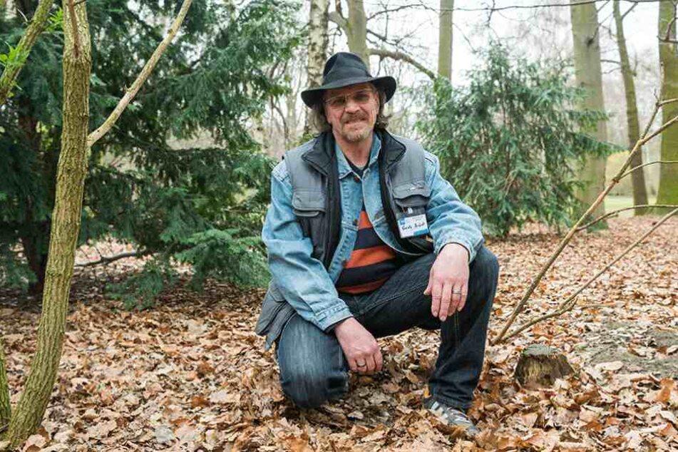 Guido Brück war zehn Jahre obdachlos und berichtet aus seinen Erinnerungen.