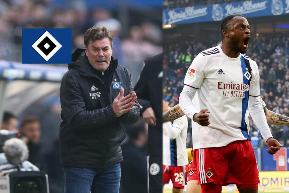 HSV-Trainer Hecking beweist erneut sein goldenes Händchen