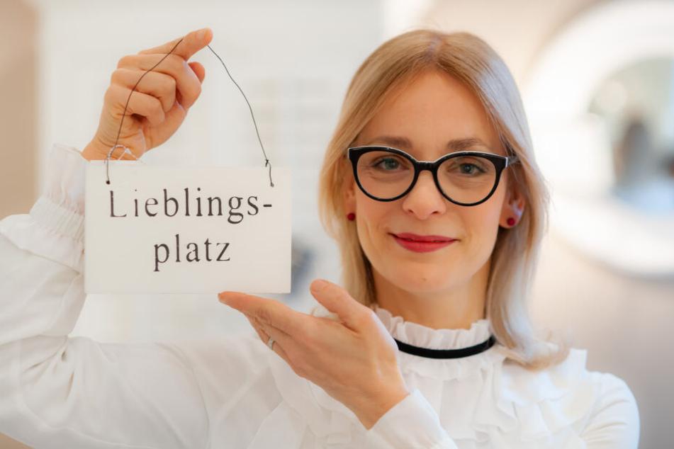 Simone Fischer (43) eröffnet heute ihr Café Riviera in der Schönherrfabrik.