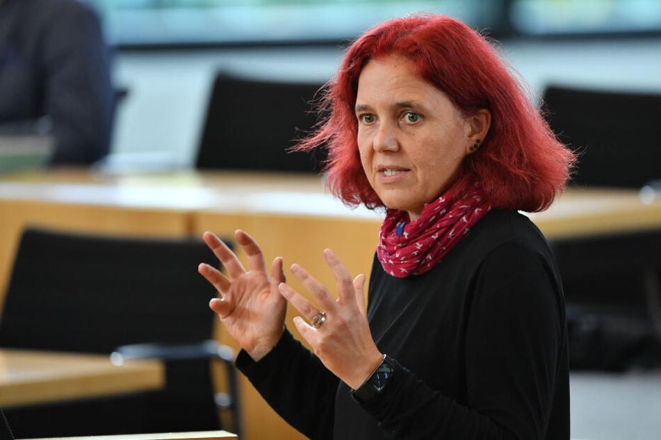 Astrid Rothe-Beinlich war von dem AfD-Mann beschimpft worden.