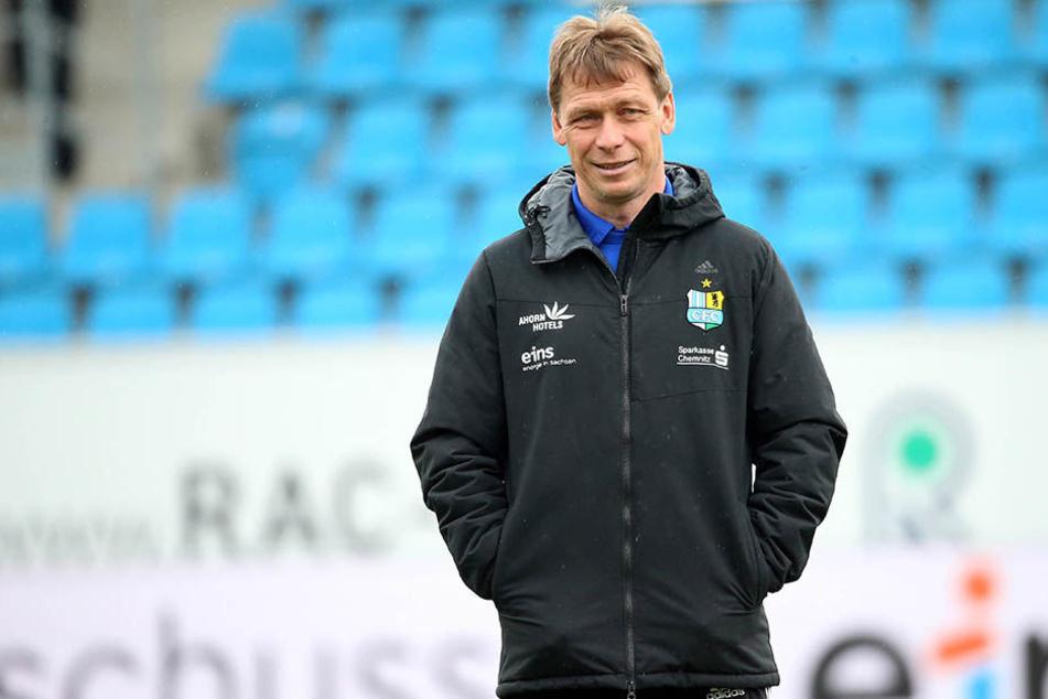 Sven Köhler könnte doch Trainer beim Chemnitzer FC bleiben.