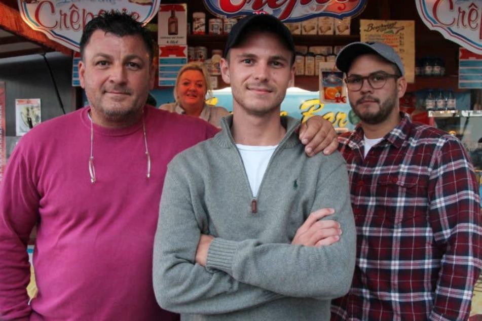 Die ganze Familie von Giuliano Lemoine (mi. 22) stand während seine Zeit im Gefängnis hinter ihm.