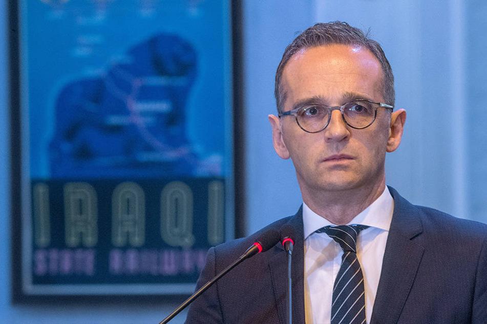 Nicht der Kalif von Bagdad, sondern der deutsche Außenminister Heiko Maas (SPD). Er weilt derzeit im Irak.