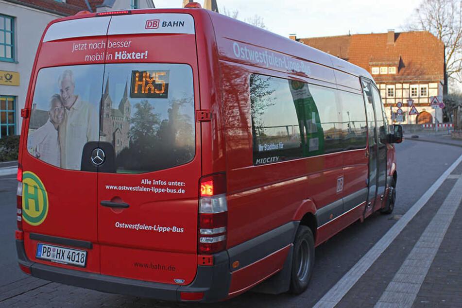 Einen Bus wie diesen entführte der psychisch kranke Mann aus Höxter. (Symbolbild)