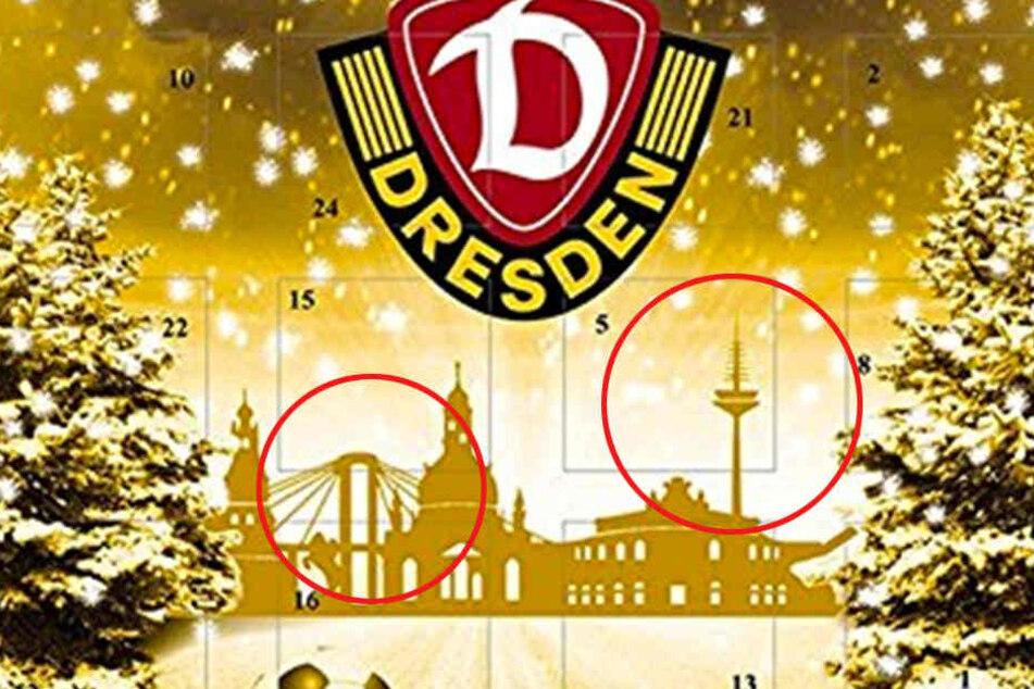 Die Brücke und der Fernsehturm stehen definitiv nicht in Dresden.