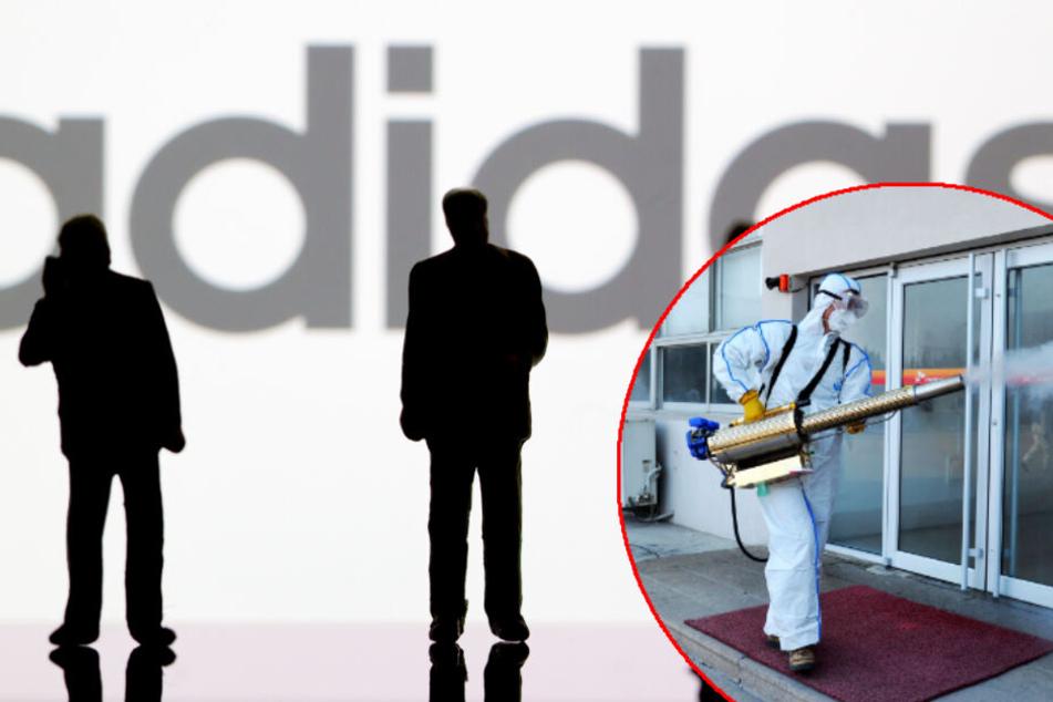Coronavius schlecht fürs Geschäft: Adidas kämpft mit sinkenden Zahlen