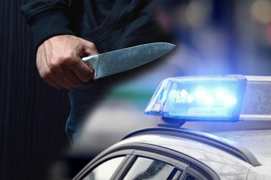 Mann bedroht zwei Frauen mit Messer