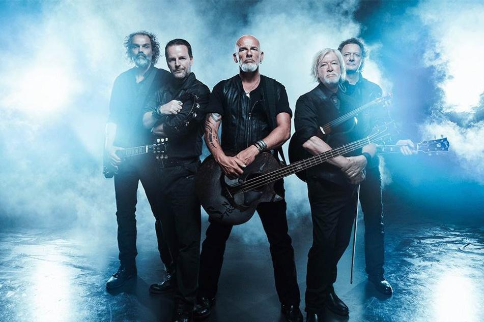 """Die Männer von """"Santiano"""" spielen morgen Abend in der Arena. Das letzte Chemnitzer Konzert gaben sie 2015 vor mehr als 5000 Fans."""