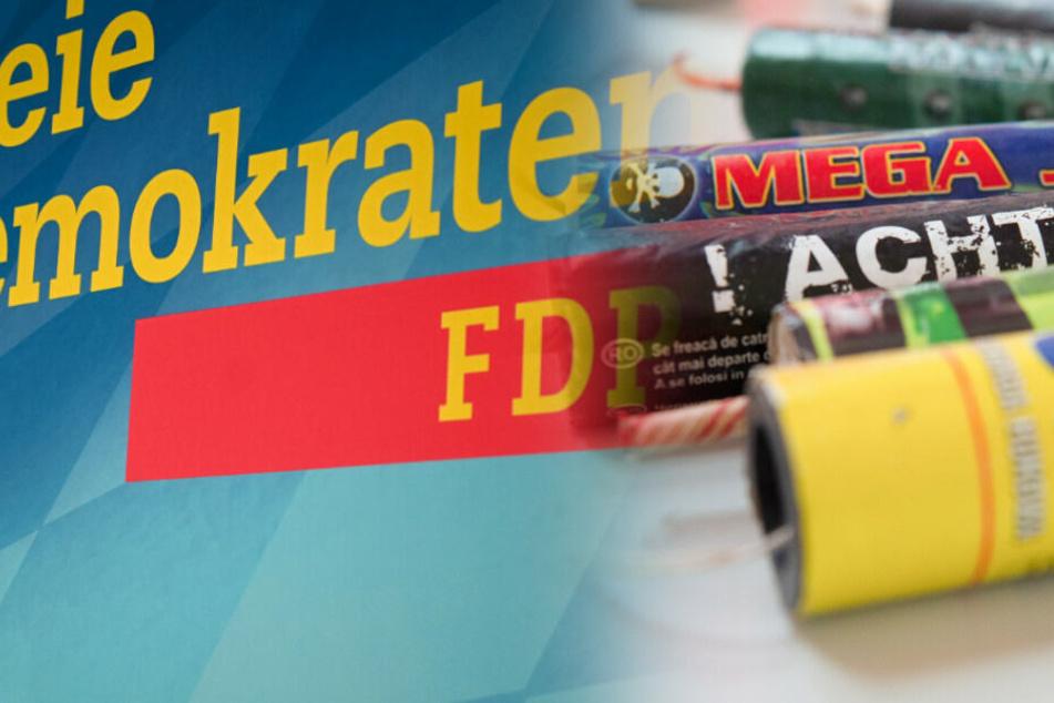 Nach Thüringer Wahl-Eklat? Haus von FDP-Politikerin mit Feuerwerk beschossen