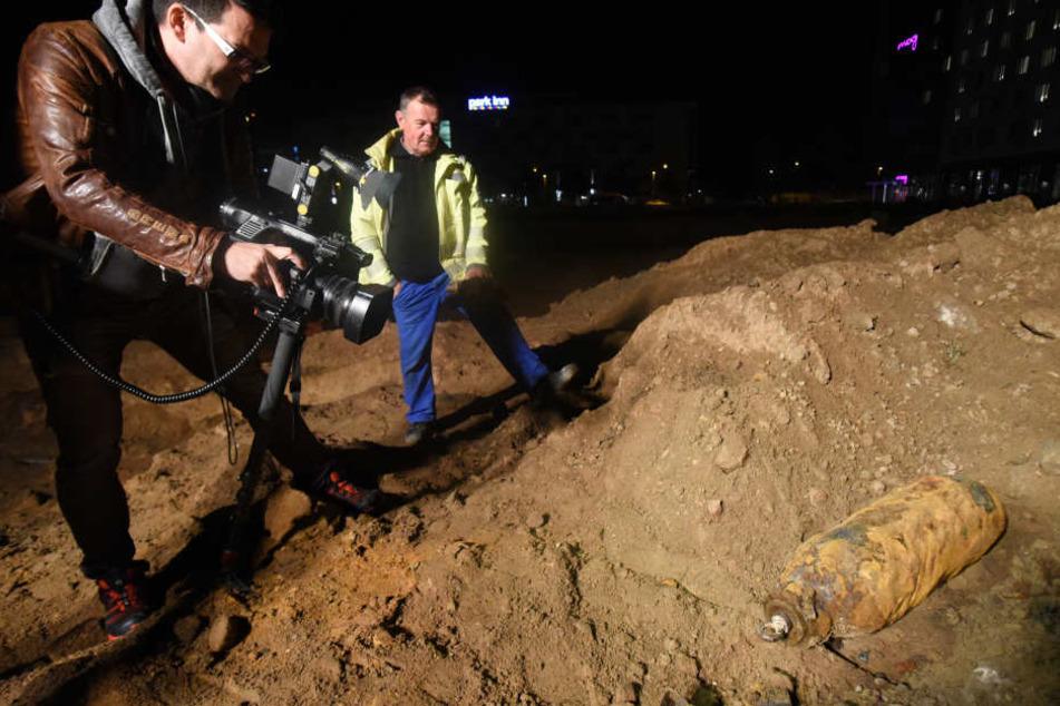 Die Bombe am Frankfurter Flughafen konnte in der Nacht zum Mittwoch erfolgreich entschärft werden.