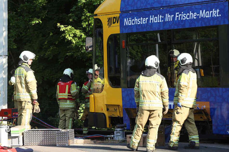 Unfall mit Straßenbahn - Mann verstirbt in Prohlis