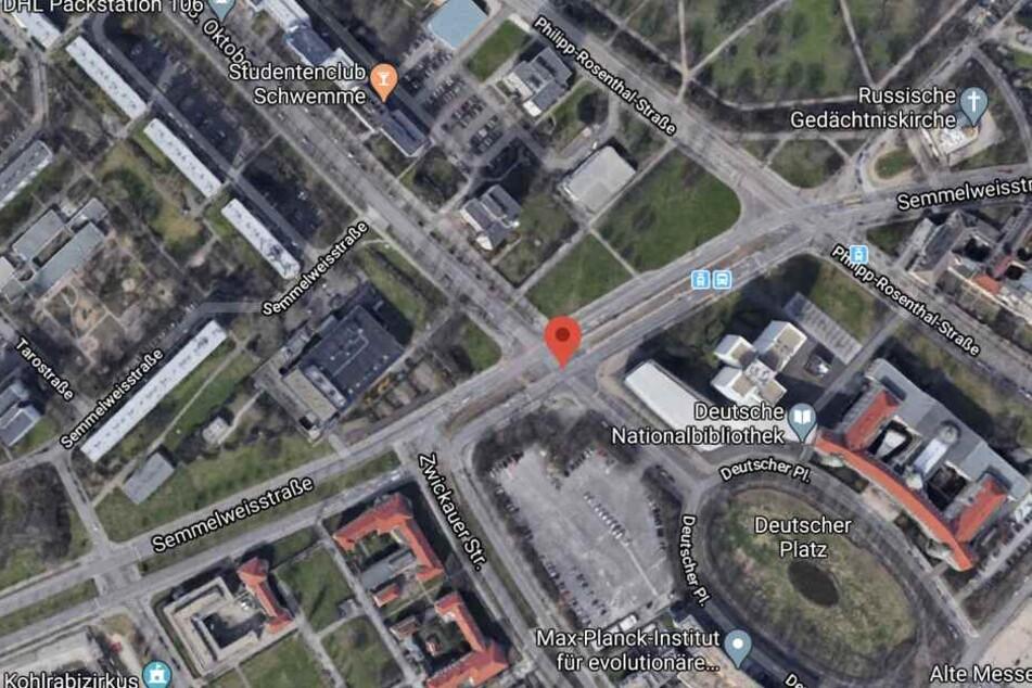 Im Bereich der Semmelweißstraße kam es zum Streit in einer Tram.