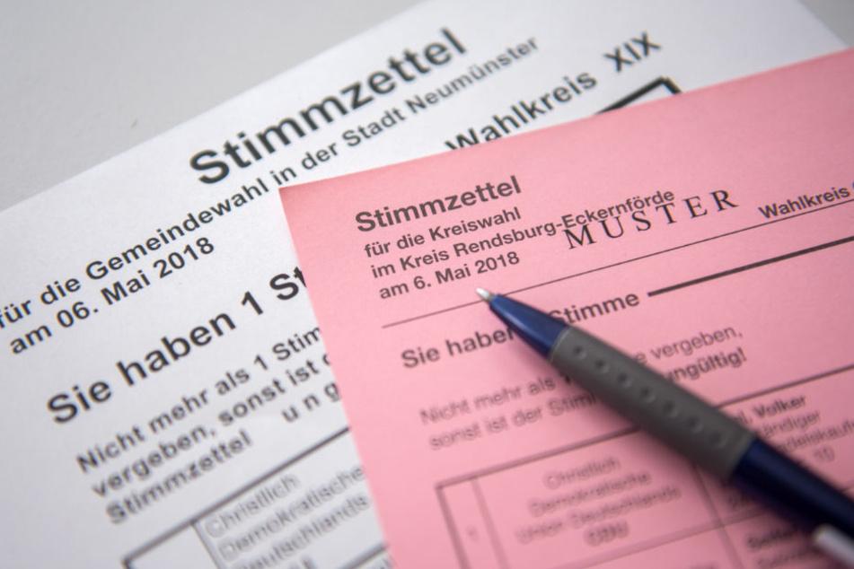 Wahlen in Schleswig-Holstein mit reger Beteiligung gestartet