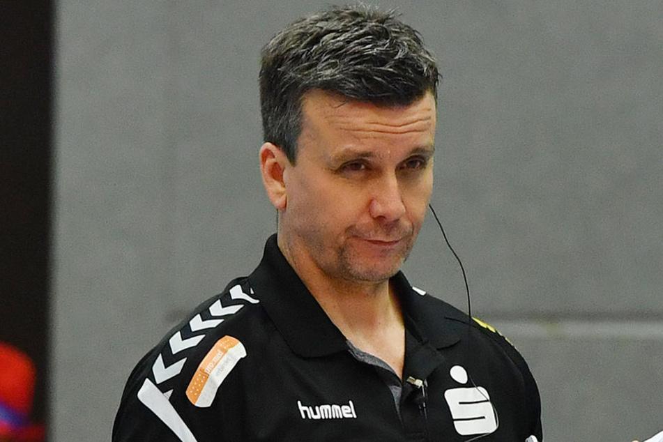 DSC-Coach Alexander Waibl bemängelte die Durchschlagskraft im Angriff.