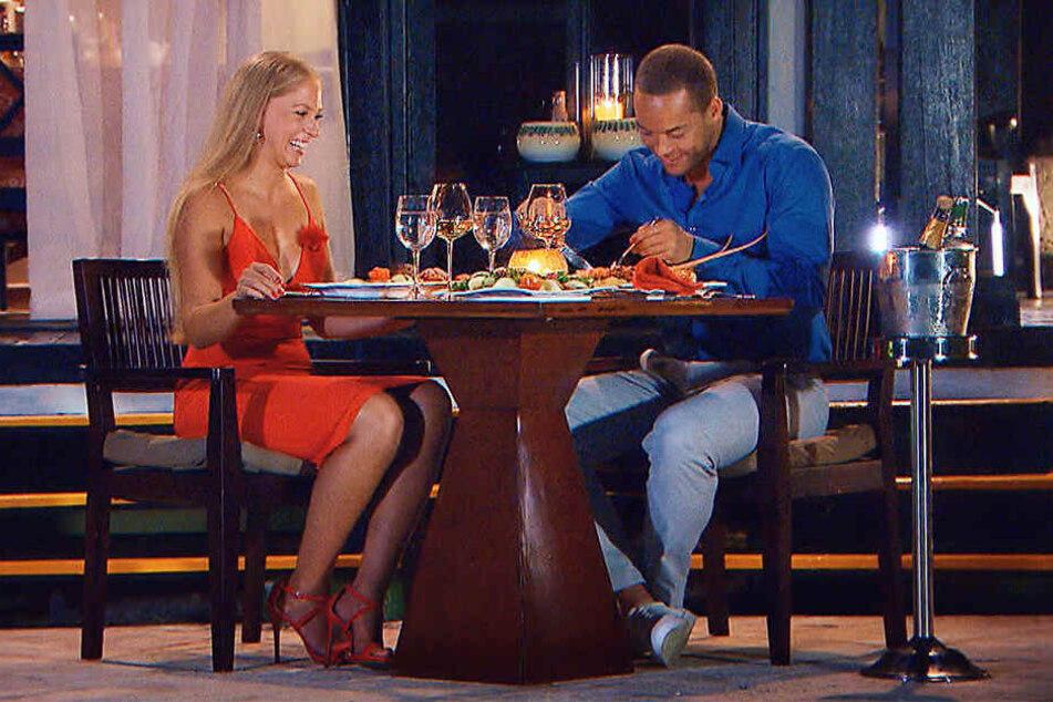 Es wurde viel gelacht, doch Vanessa konnte Andrej nicht überzeugen.