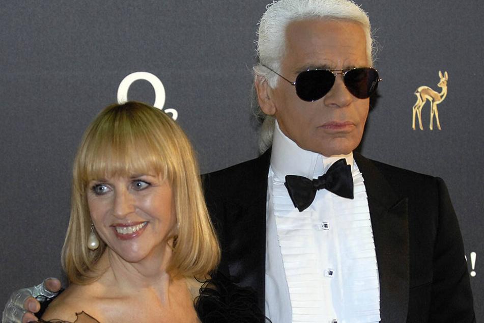 Karl Lagerfeld und Patricia Riekel waren über 25 Jahre lang befreundet.
