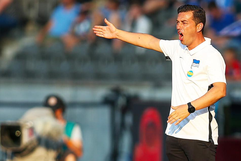 Trainer Ante Covic muss gleich zu Beginn seiner Bundesliga-Karriere als Trainer eine erste Krise moderieren.