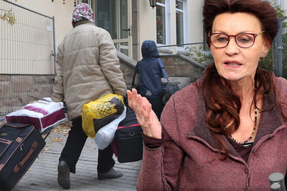 Jelpke verurteilt das finanzielle Lockangebot der Bundesregierung. (Bildmontage)