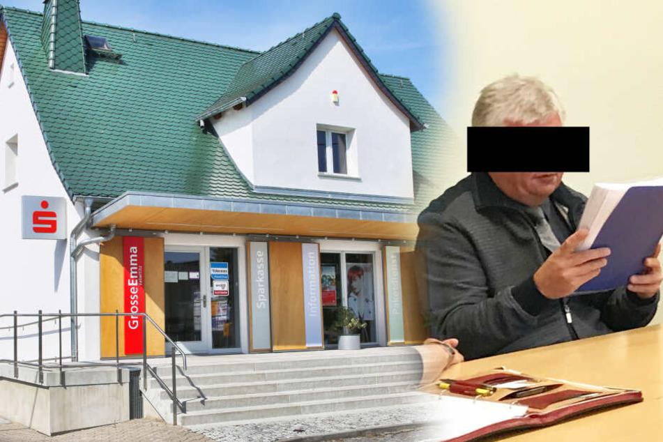 Sachsens dümmster Bankräuber: Erst keine Beute, jetzt vor Gericht